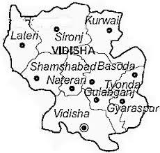 vidisha map