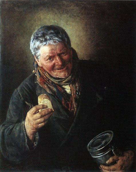 Маковский Владимир Егорович - Дьячок. 1871