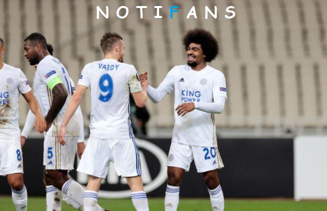 AEK 1 - 2 Leicester - Europa League 2020/21 - Grupo G - Todos los Goles