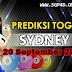 Prediksi Togel Sydney 16-10-2021
