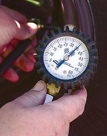 Tire pressure gauge Analog