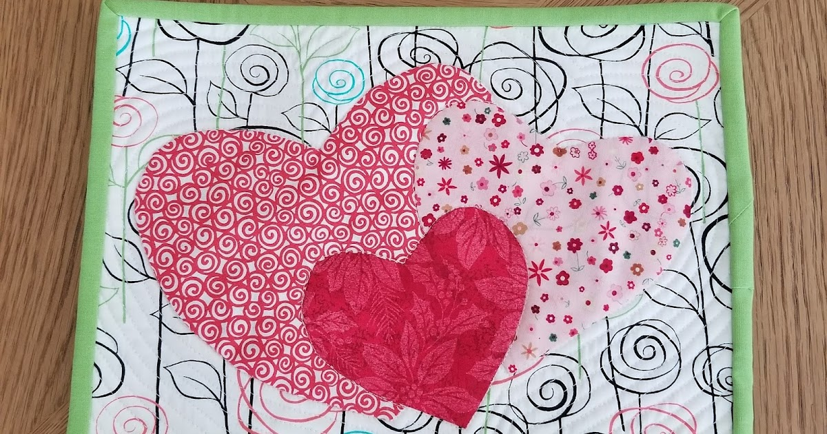 selina quilts: Put A Little Love In Your Heart - Blog Hop