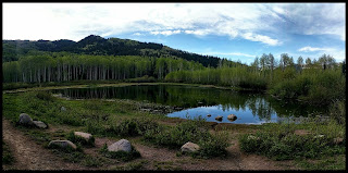 Willow Heights Lake Big Cottonwood Canyon Utah