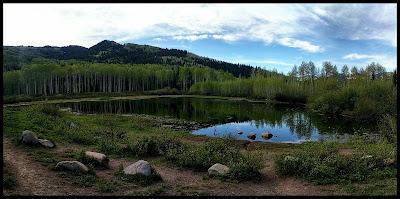 Willow Heights Lake Big Cottonwood Canyon Utah