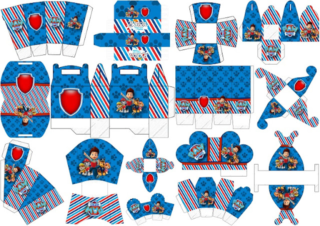 Paw Patrol Free Printable Boxes Oh My Fiesta In English