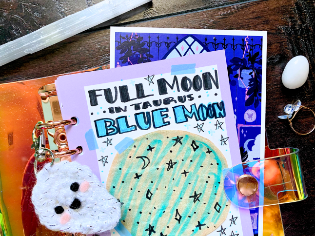How to Celebrate the Taurus Blue Full Moon