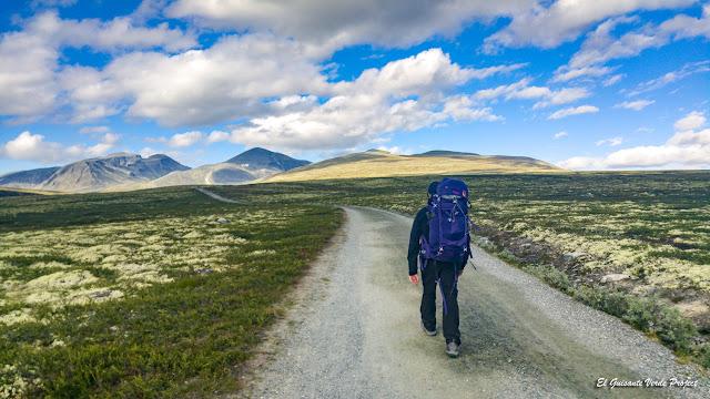 Ruta de Spranget a Rondvassbu en Rondane - Noruega, por El Guisante Verde Project