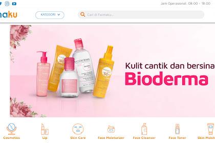 Apotik Online Farmaku: Jual Bioderma dengan Varian Lengkap