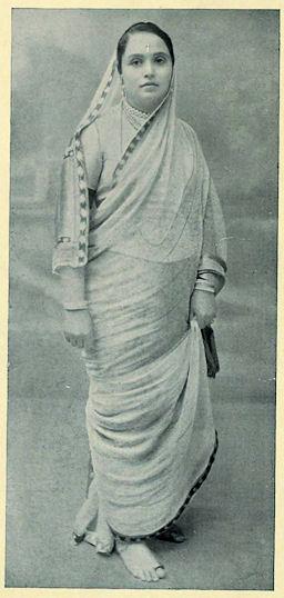 Chimnabai II (born Lakshmibai Mohit, 1871-1958), Maharani of Baroda
