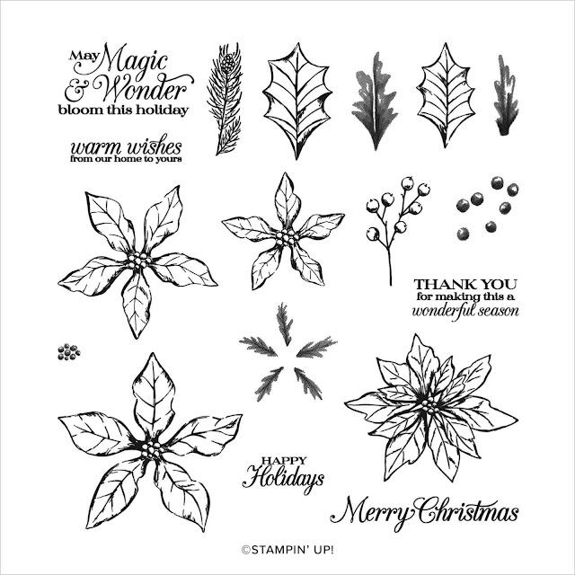 Craftyduckydoodah, Stampin' Up, Poinsettia Petals, Stamping INKspirations Blog Hop,