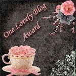 One Lovely Blog Award From Sylvia van Bruggen