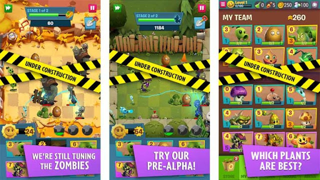 Download Plants vs Zombies 3 Pre-Alpha
