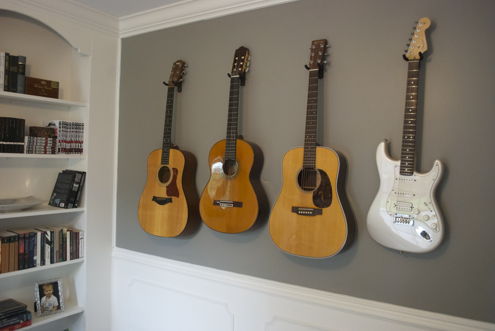 How To Build A Guitar Stand On The Wall