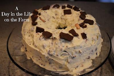 Hershey Bari with Almonds Bundt Cake