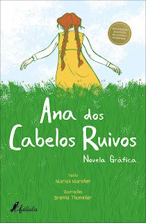 Ana dos Cabelos Ruivos Novel Gráfica, de Mariah Marsden - Novidade Fábula