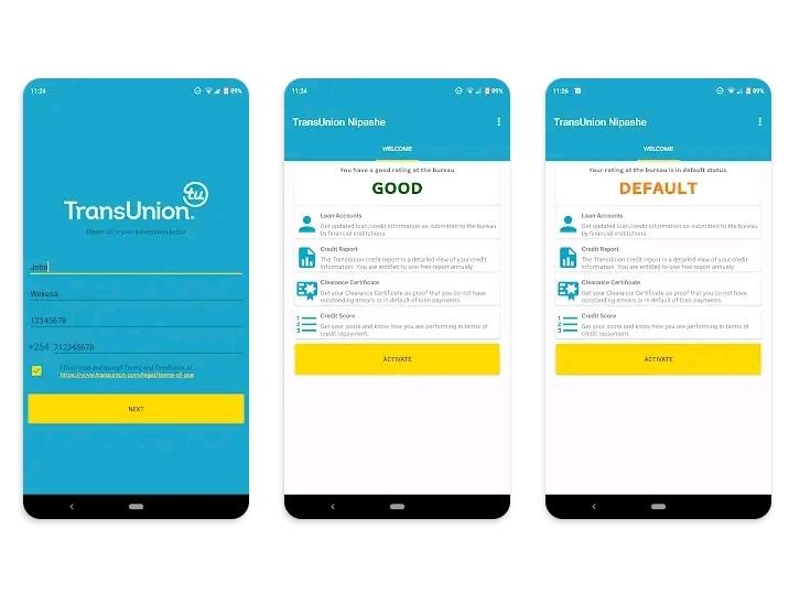 TransUnion Nipashe App