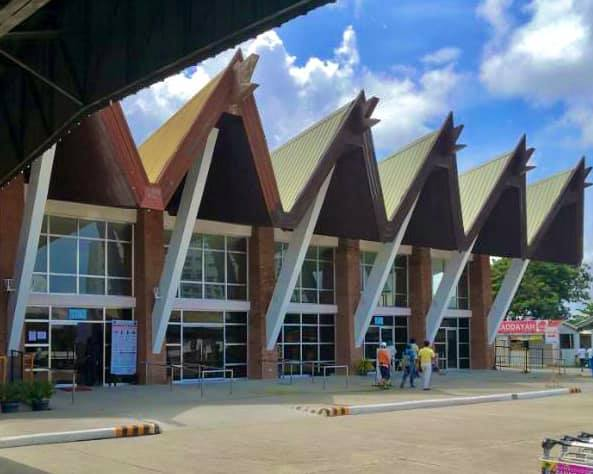 Zamboanga Airport facade PTB