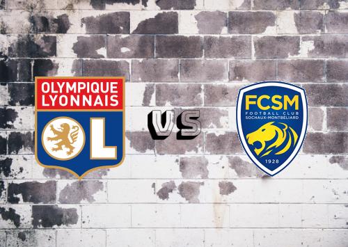 Olympique Lyonnais vs Sochaux  Resumen
