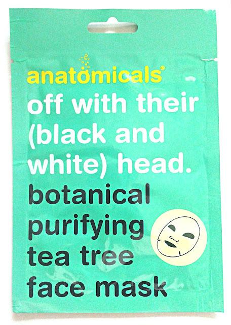 Botanical Purifying Tea Tree Face Mask
