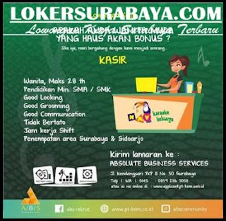 Loker Surabaya di Absolute Business Service Terbaru Mei 2019