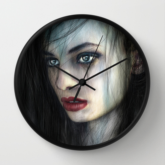 Wall clocks by Justin gedak from Society6