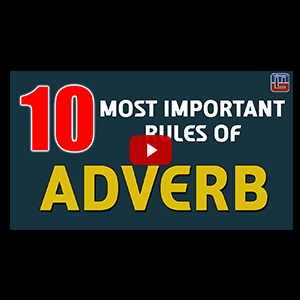 10 Best Concepts Of Adverb | English | All Competitive Exams