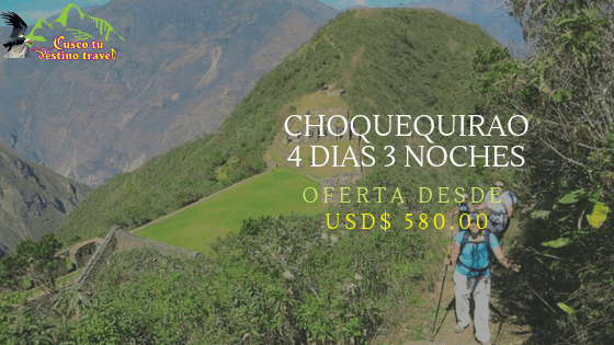 Treking a Choquequirao