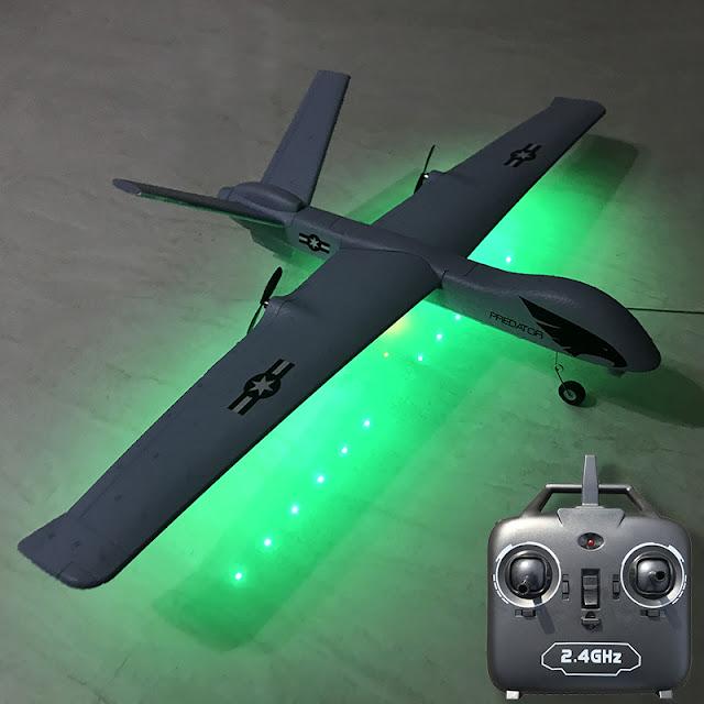 Máy bay điều khiển từ xa cánh bằng Z51 Predator