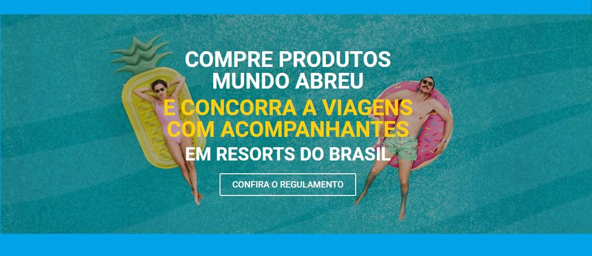 Promoção Mundo Abreu 2021 Sorteio Viagens com Acompanhante