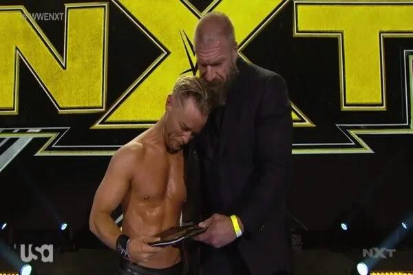 نتائج عرض NXT بتاريخ 03.06.2020 وتربل اتش يوقع عقدا جديدا مع دريك مافريك في مشهد مؤثر (فيديو)