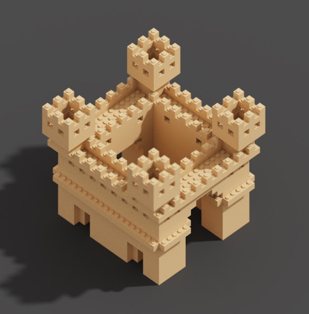 Shapes in MagicaVoxel