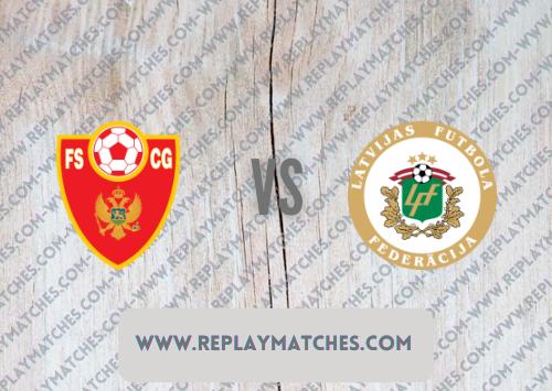 Montenegro vs Latvia -Highlights 07 September 2021