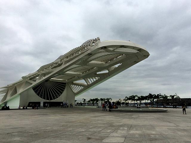 Museu do Amanhã na Praça Mauá RJ