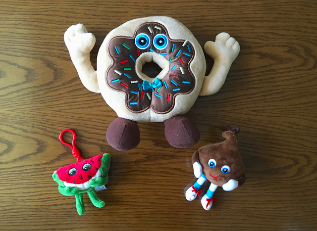 The Original Whiffer Sniffers - donut chocolate chip watermelon