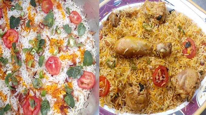 حیدر آبادی چکن دم بریانی | Hyderabadi Chicken Biryani
