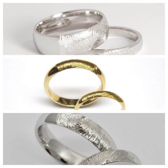 couple band silver wedding sterling en dna love rings