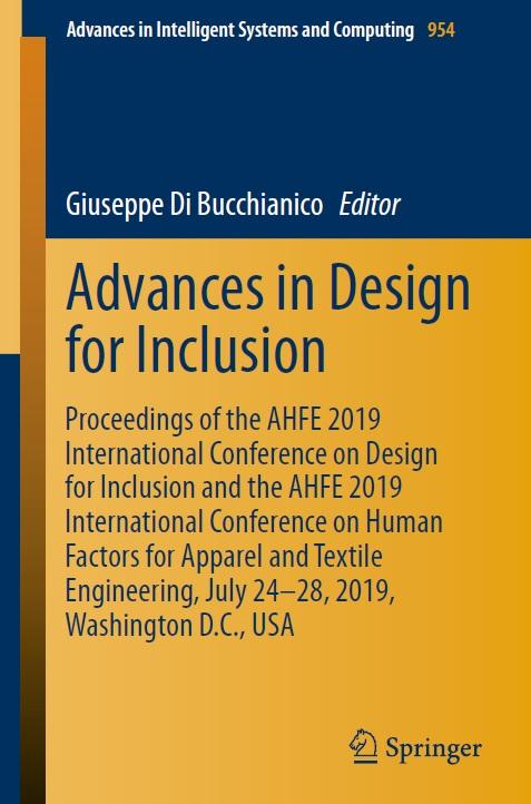 Advances in Design for Inclusion pdf by Giuseppe Di Bucchianico