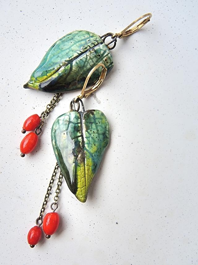 """DIY oorbellen/earrings """"Berries"""""""