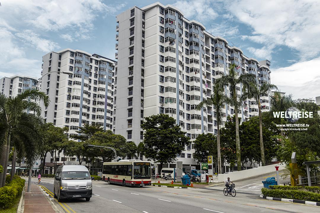 WELTREISE durch Singapur