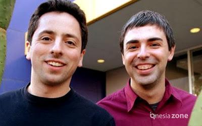 2 Mahasiswa Pendiri Google Larry Page dan Sergey Brin