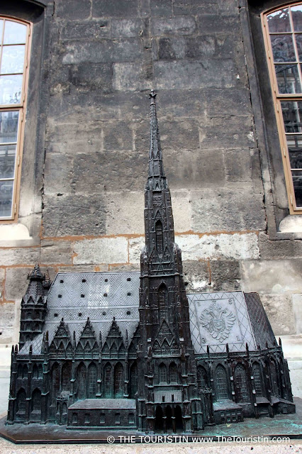 Stephansdom. Travel Austria. Vienna. Sculpture