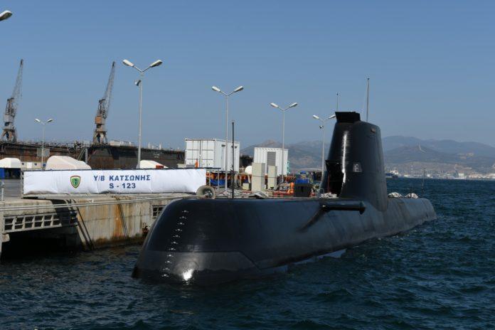 d27e0c3f3fb Ένταξη σε υπηρεσία 2 νέων υποβρυχίων τύπου 214 AIP - Όλα τα εν εξελίξει  προγράμματα του Πολεμικού Ναυτικού.