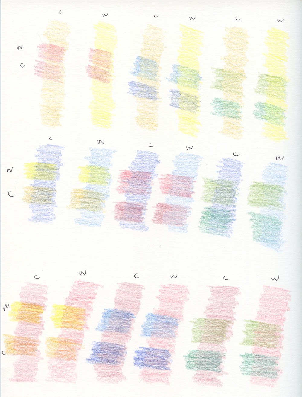 Fueled by clouds coffee color mixing chart color mixing chart with colored pencils nvjuhfo Gallery
