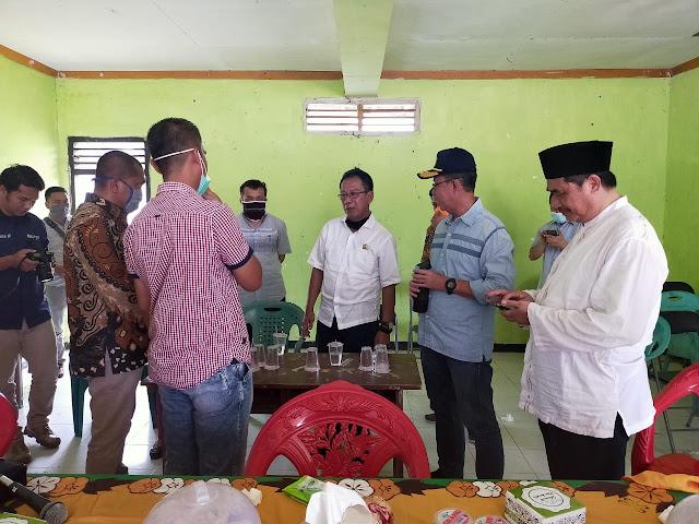 Sekda Provinsi Lampung temui warga Purwotani Untuk Sosialisasi Covid-19