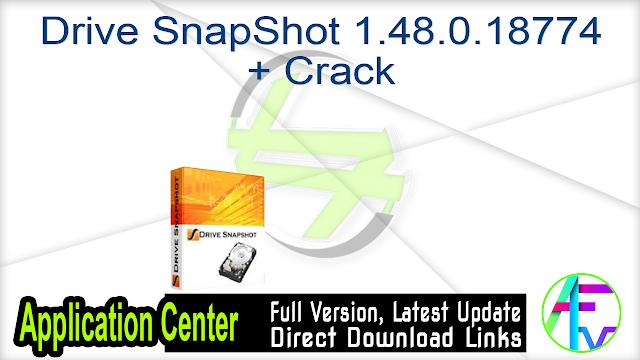 Drive SnapShot 1.48.0.18774 + Crack