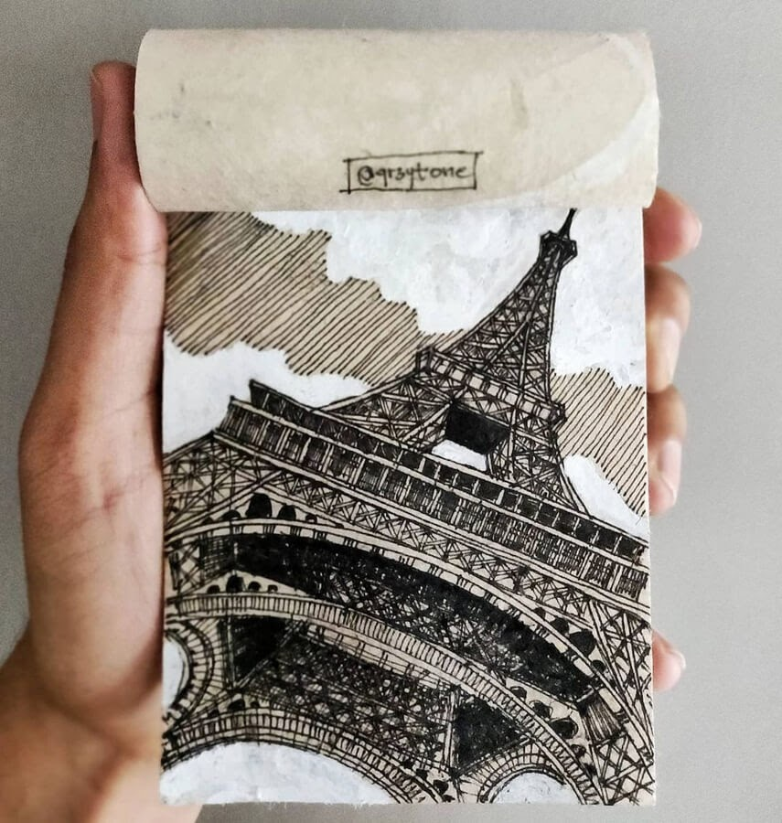 01-Eiffel-Tower-Paris-Sukshith-Shetty-www-designstack-co