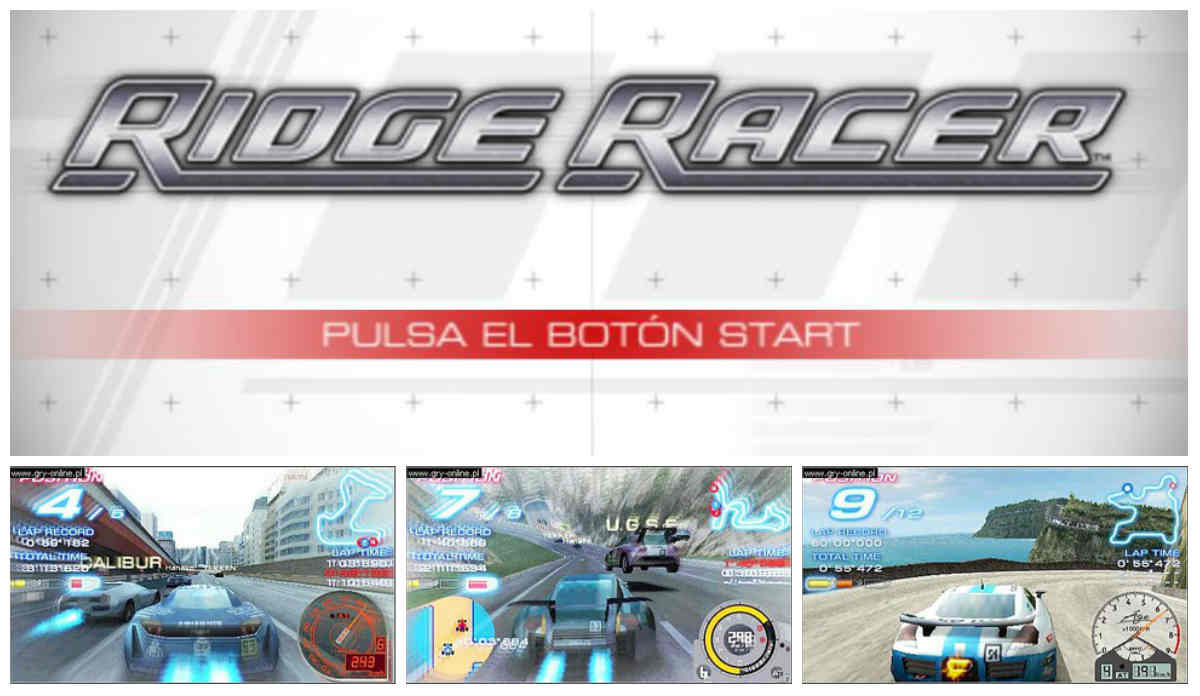 Ridge Racer psp capturas