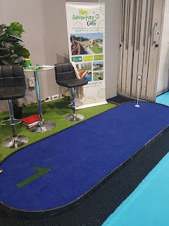 HM Adventure Golf at the Family Attraction Expo in Birmingham