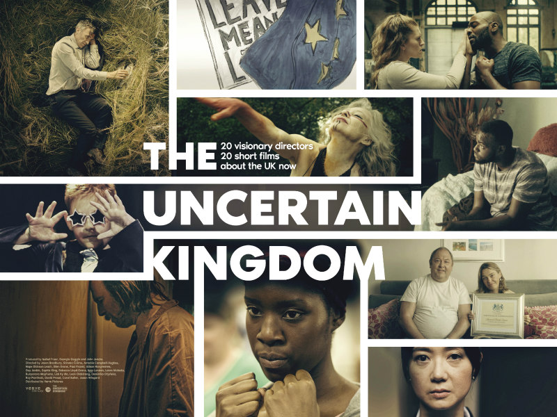 the uncertain kingdom poster