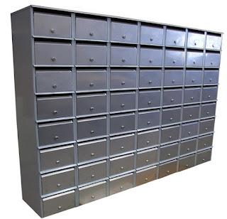 Apartemen kotak surat
